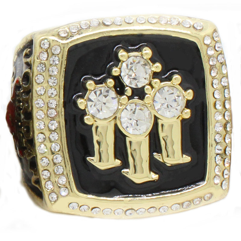 6 PCS Michael Jordan Chicago Bulls Replica NBA Champions Ring Set