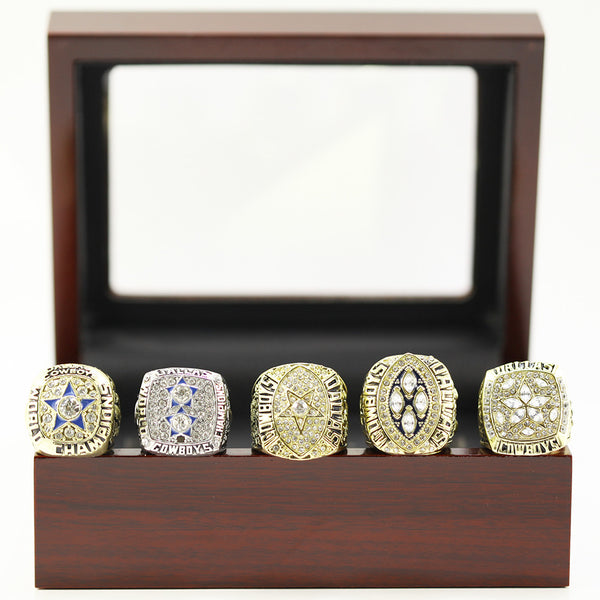 Dallas Cowboys Super bowl sports world Championship Rings 5 Years Sets