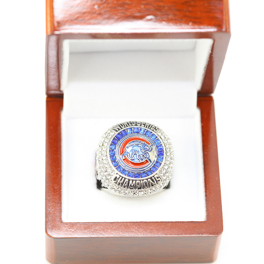 2016 CHICAGO CUBS ZOBRIST WORLD SERIES CHAMPIONSHIP FAN RING