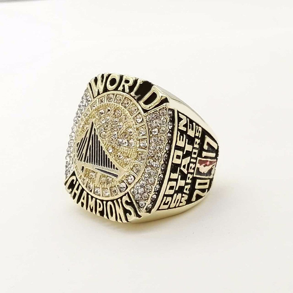 2017 High Quality Golden State Warriors  World Champions Ring