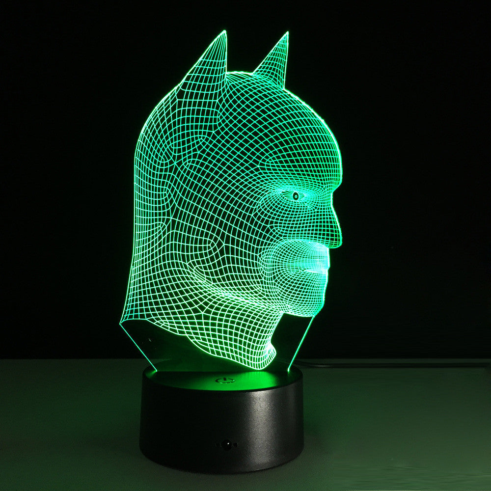Ultimate Batman 3D Acrylic LED & Color Touch Switch Table Lamp