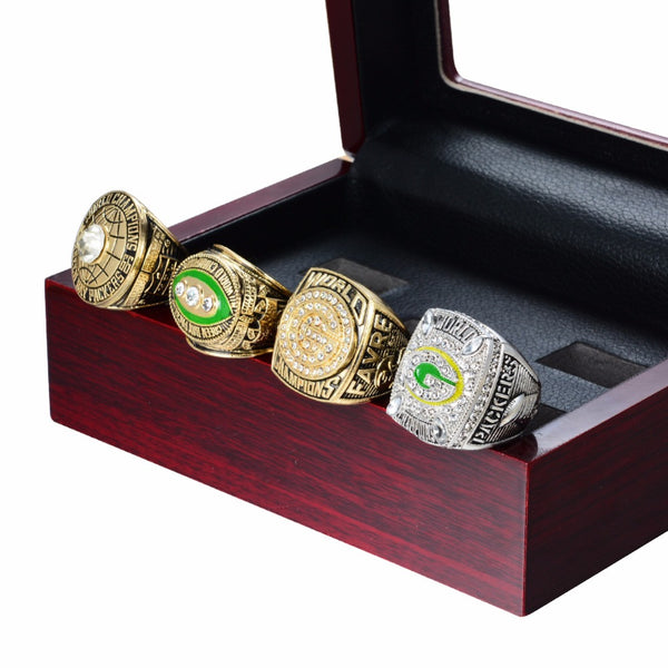 Green Bay Packers Superbowl World Champions Rings set 1966/1967/1996/2010