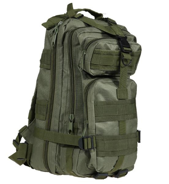 Outdoor Black Tactical Sport Bags Military Backpack Camping Hiking Bag