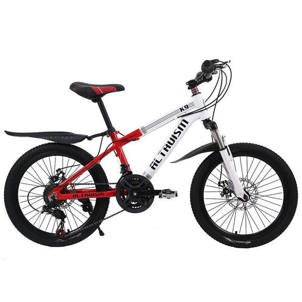 ALTRUISM K9 Mountain Bike 21 Speed Bicycles Double Disc Brake Aluminum Bikes 20 Inch Unisex Bicycle