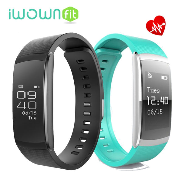 iWOWNFit i6 Pro Heart Rate Monitor Smart Band Multi Sport Record Management Fitness Tracker for IOS Android Phones