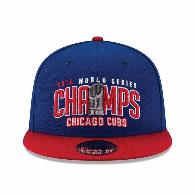 Official 2016 World Series Champions Champs Chicago Cubs New Baseball Cap