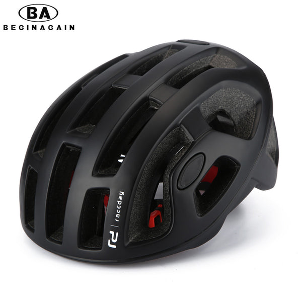 BEGINAGAIN Cycling Helmet Matte Pneumatic Mens Bicycle Helmet Professional Mountain helmet Racing Bike IN-MOLD Safely Cap