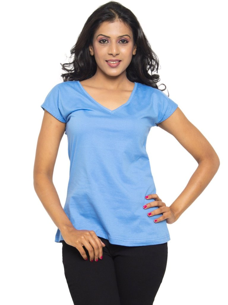 marina-blue-v-neck-tee