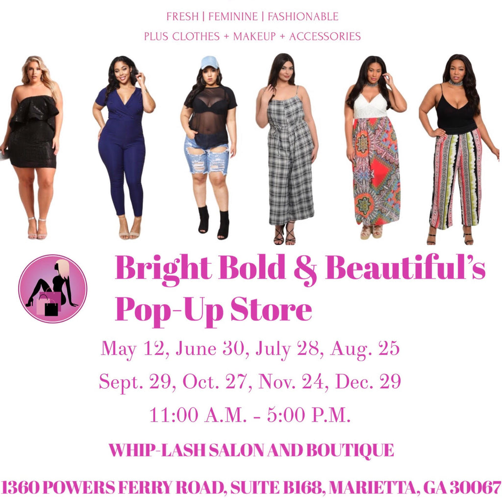 Bright Bold & Beautiful's Pop-Up Store