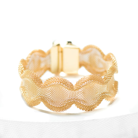 PHILAE Bracelet Gold-Plated Coral
