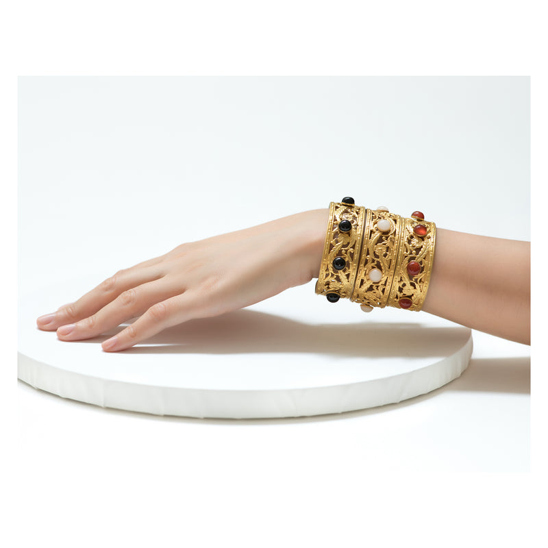 PHILAE Bracelet Gold-Plated Lune