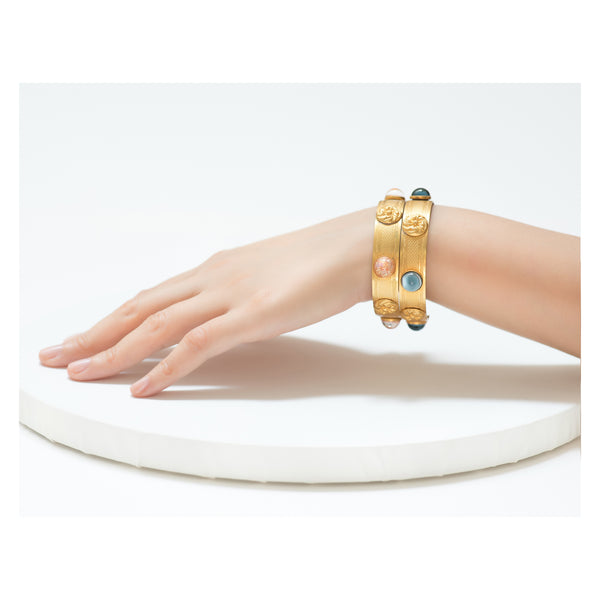 APHRODITE Bracelet Gold-Plated Night Blue