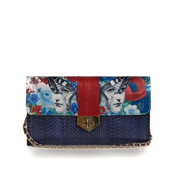 LUV YAH Clutch Bag Removable strap - Paola for Darsala