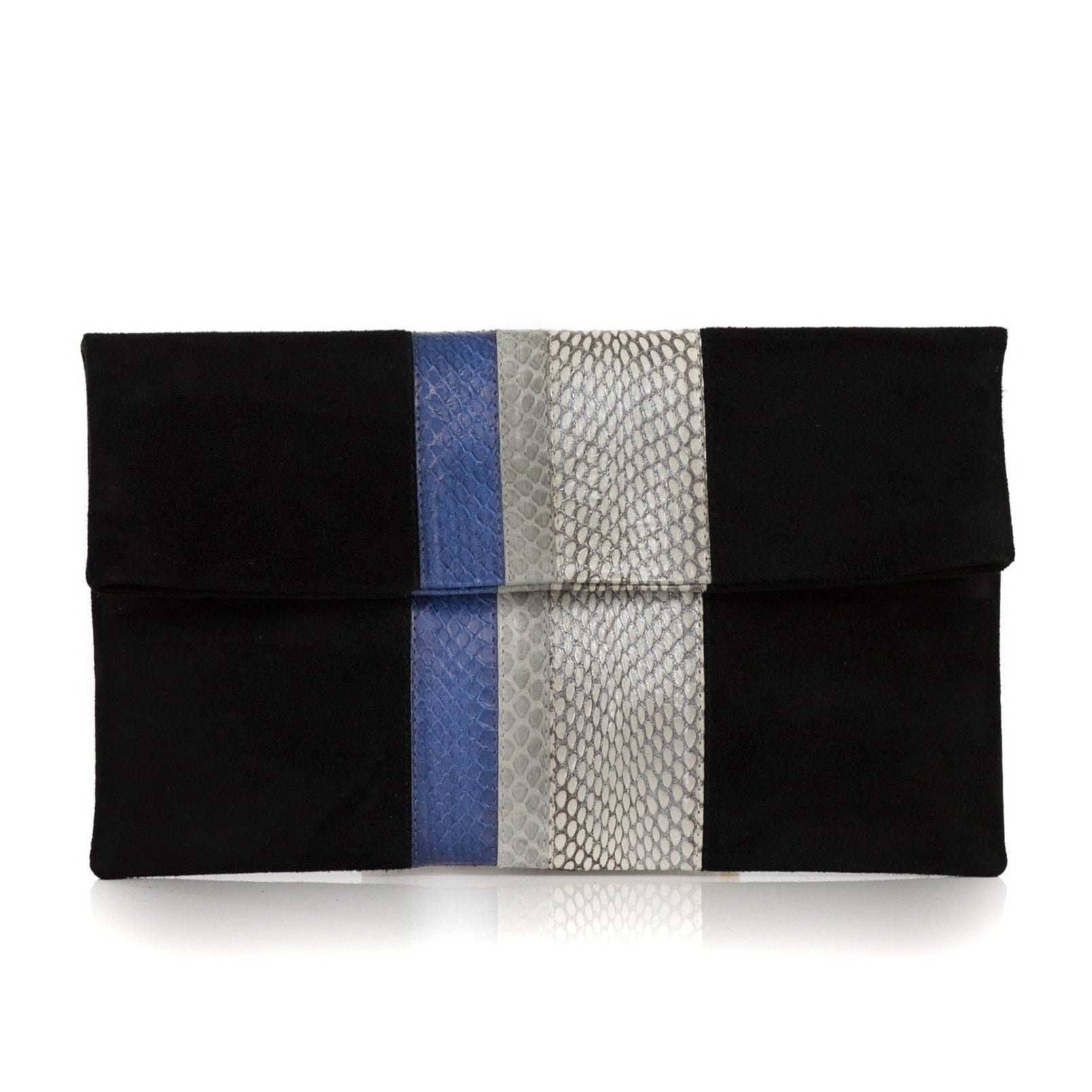 STRIPY clutch bag