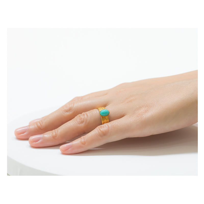 TANIS adjustable ring turquoise