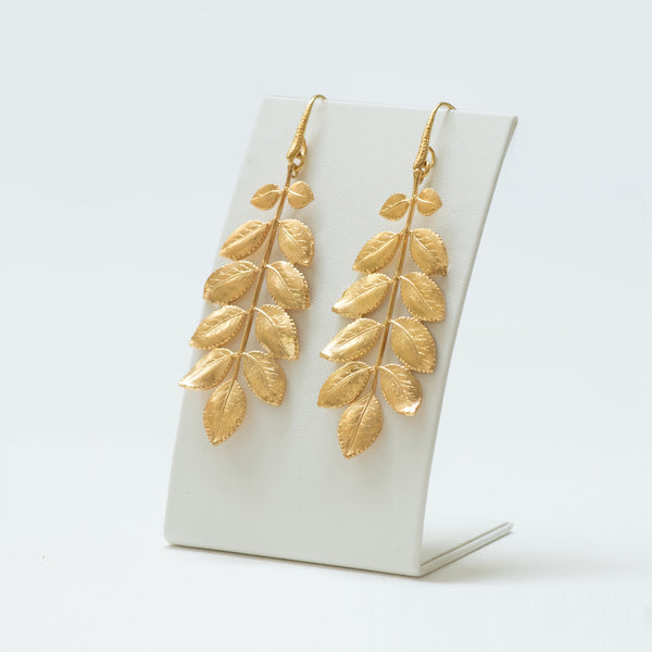 EDEN Floral  Earring Gold-Plated