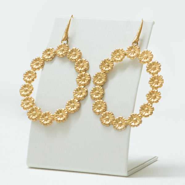 LILA Earring Gold-Plated