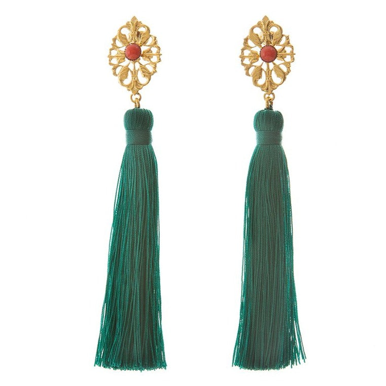 AZYADE Earring Green