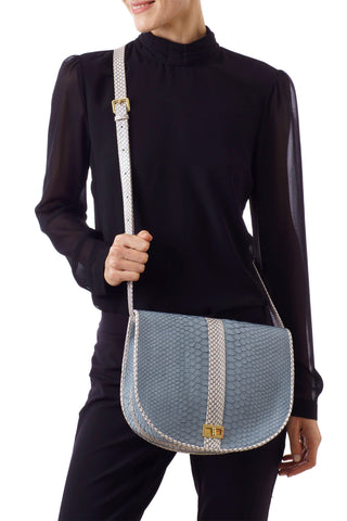 SOMEE SADDLE BAG SKIM BLUE