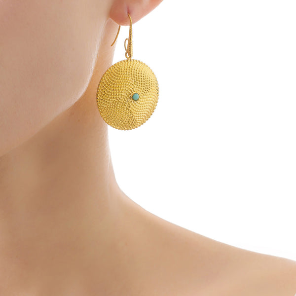LEONIE Statement Earrings Gold-Plated