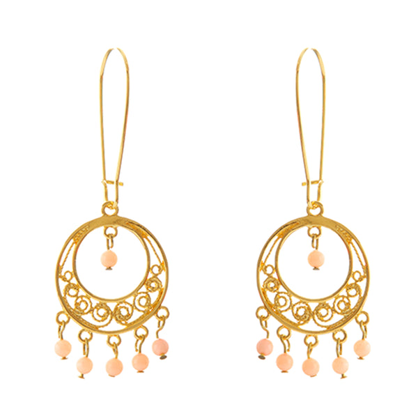 CELINE Filigree Earrings