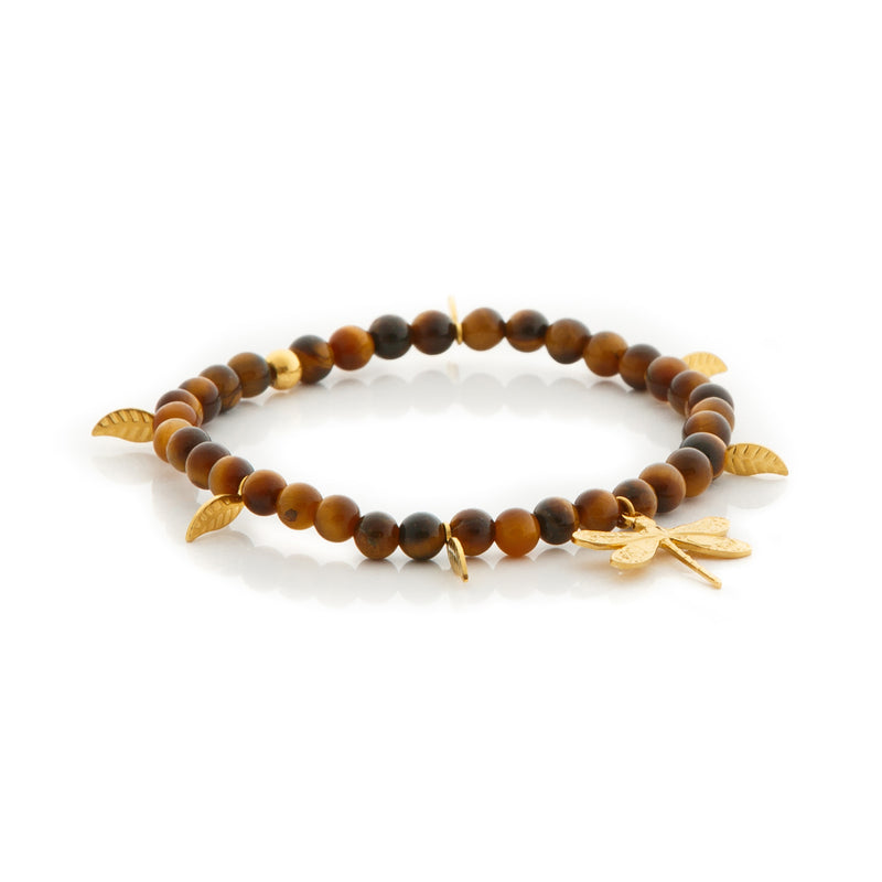 DRAGONFLY Bracelet Tiger Eye