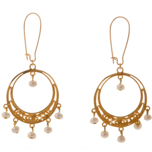 EMELYNE Earring Gold-Plated and Pearl