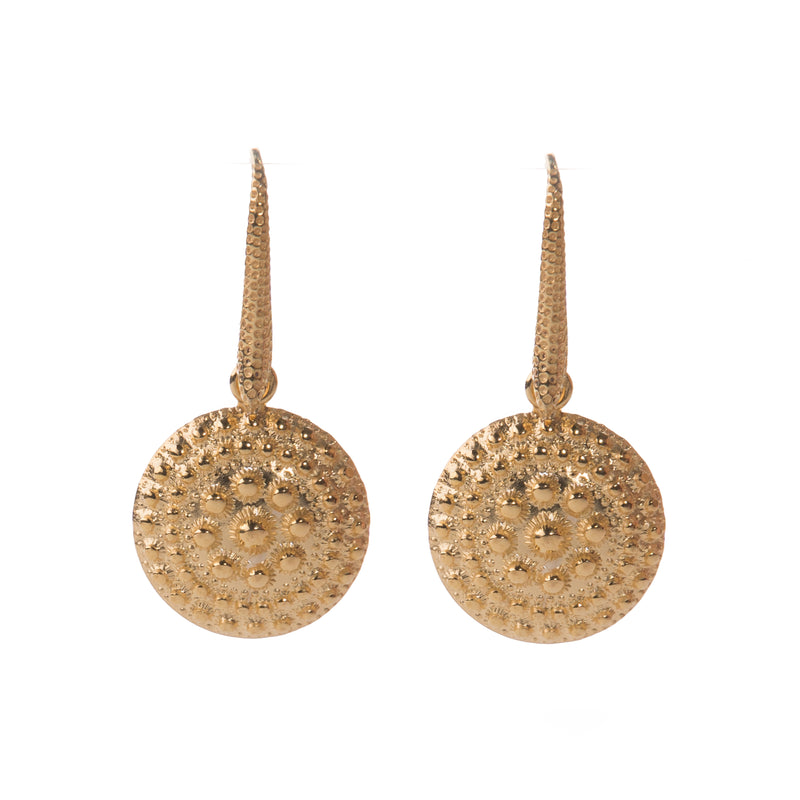 EOLIA Gold Heritage Drop earrings