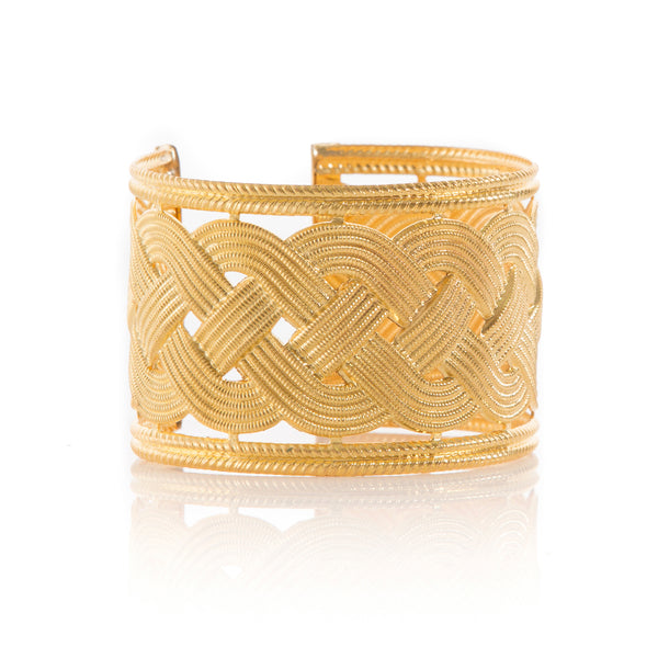 INES adjustable braided bracelet