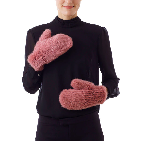MAMMOTH Rosewood Knitted Gloves