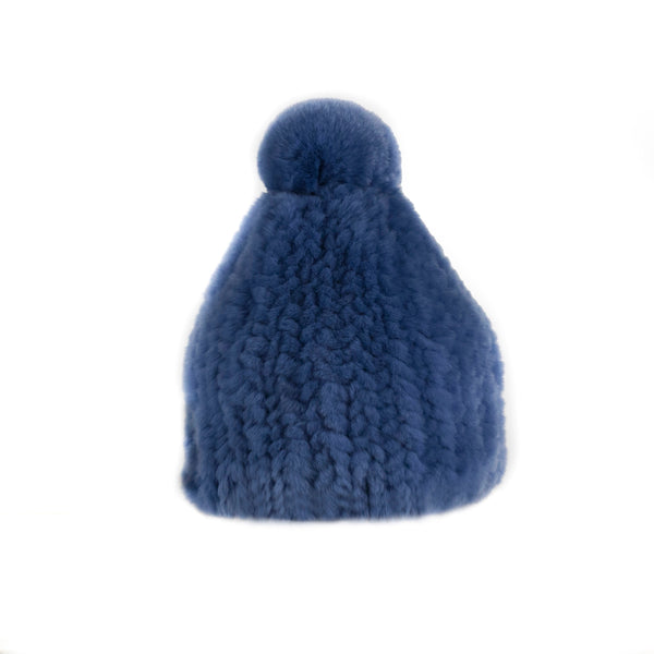 Verbier blue Knitted Hat
