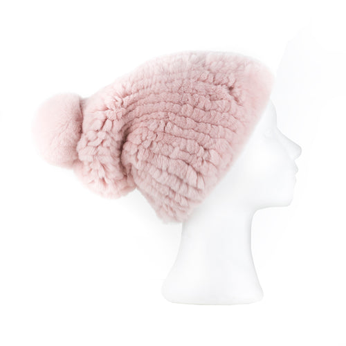Darsala Pink Knitted Hat