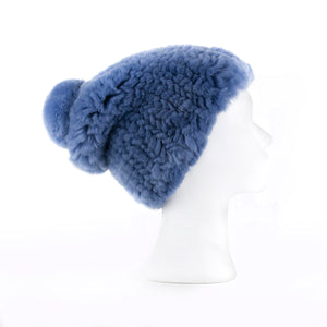 Darsala blue Knitted Hat