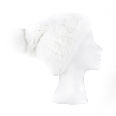 Verbier white Knitted Hat