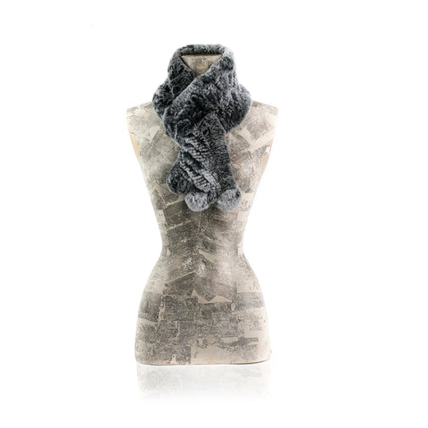 CHAMONIX Grey Knitted scarf