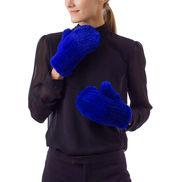 MAMMOTH Electric Blue Knitted Gloves