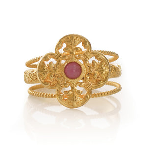 MONA Adjustable Ring Pink