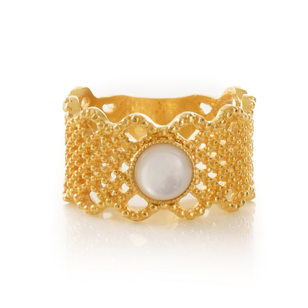 NAELIS Lace Ring Lune