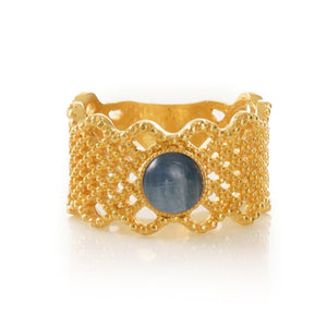 NAELIS Lace Ring Cyanite