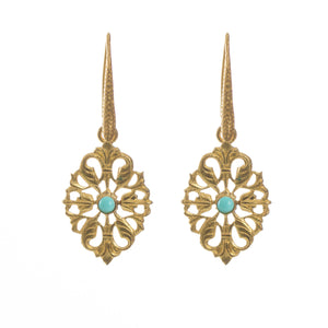 Nolan Turquoise Vintage-Inspired Earring