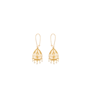 ONDINE Earring Gold-Plated and Pearl