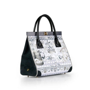 Singapore Story ONG SAN FU 'White China' bag in collaboration with LOUISE HILL
