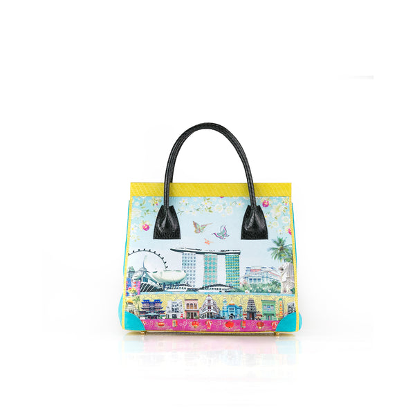 Singapore Story ONG SAN FU 'We Love Singapore' bag LOUISE HILL for DARSALA