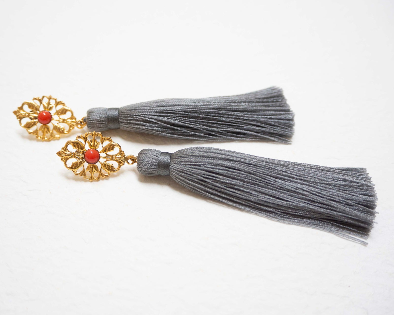 AZYADE Earring Grey