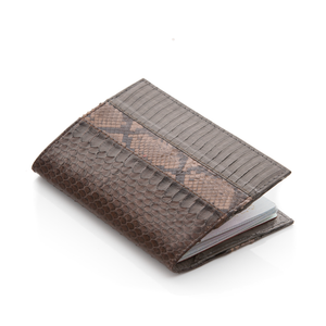 TRAVELAD Passport Cover Turtle and DBN Cobra and Walnut Python