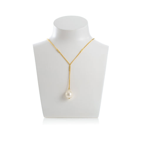 PENELOPE Necklace Gold-Plated and Pearl