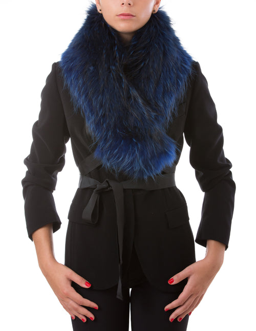 Zurs, Modular Blue Fur Collar
