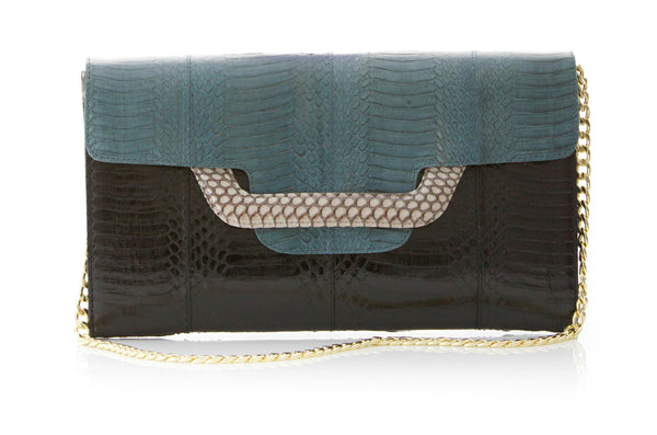 ULALA Clutch bag  Navy with removable strap