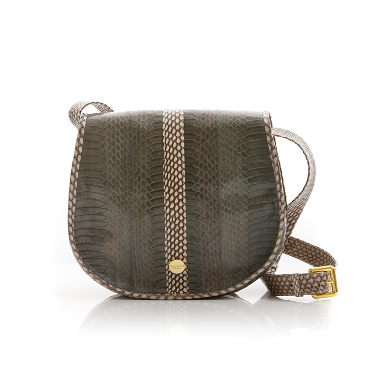 Cross Body Bag SOMINI Cloudy Grey Cobra