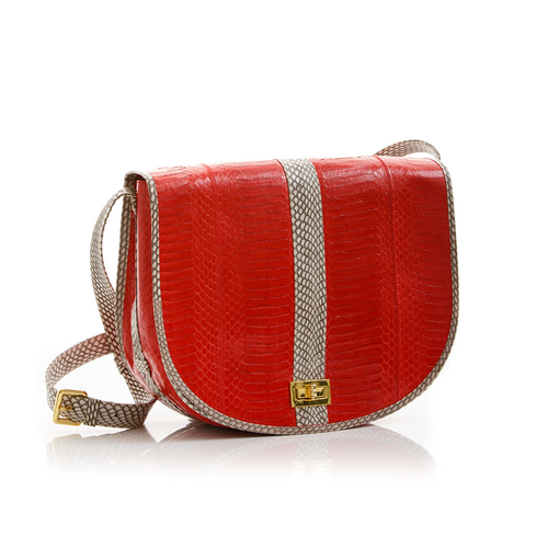 Saddle Bag SOMEE Red Cobra